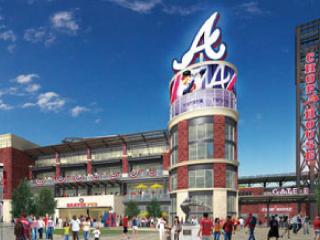 アトランタ・ブレーブスの新しい野球場でのクラブシートビジネスに従事