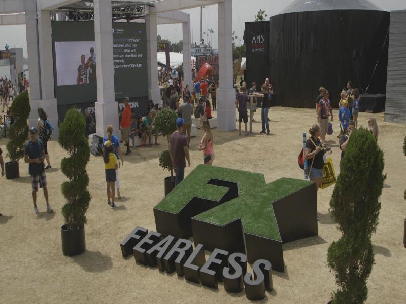 FX Networksのオフィシャルパートナーとして3年連続でコミコン・インターナショナルの展示会場をプロデュース