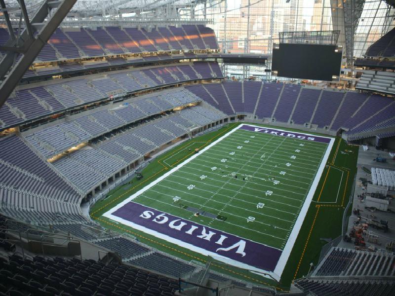 ミネソタ・バイキングスの本拠地、USバンク・スタジアムに建設権・プレミアシート運営権を売却